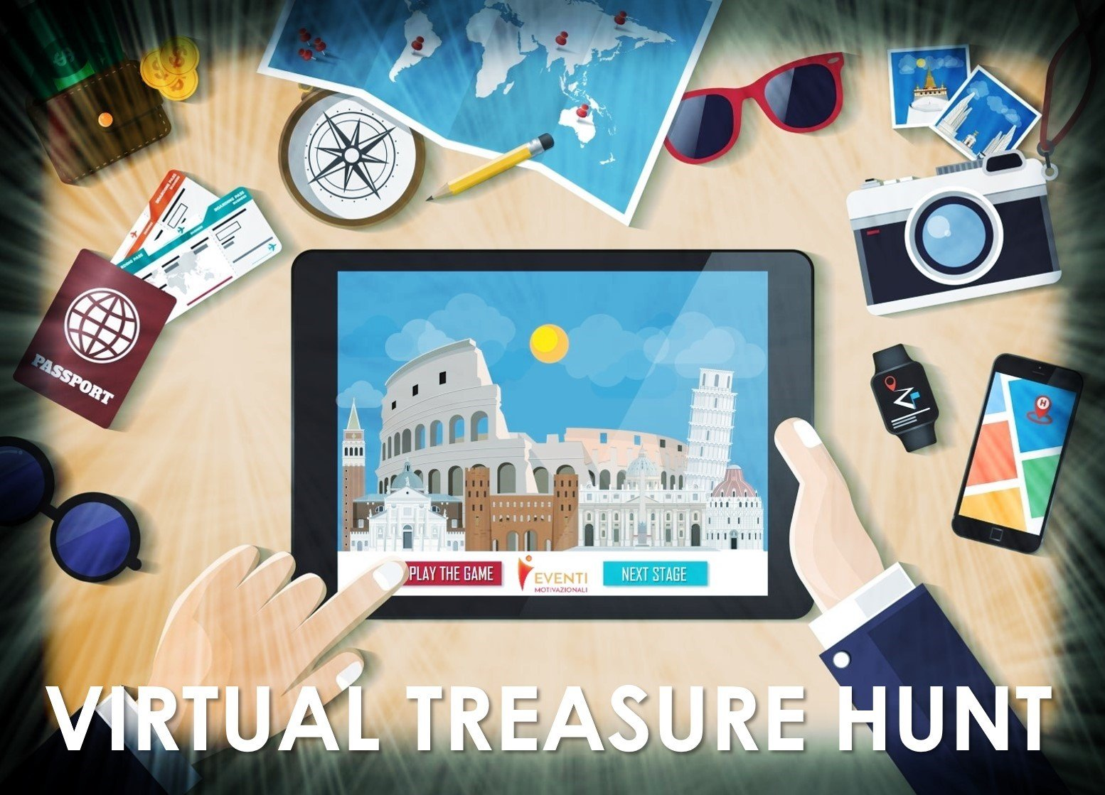 Virtual Treasure Hunt